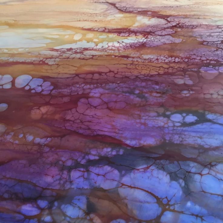 "Detail from ""Wanderer""...these colors together excite me.  #encaustic #artstudio #fineart #aliciatormey"
