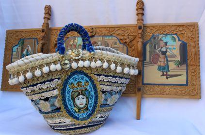 sicilian luxury bag as coffa mod. princess
