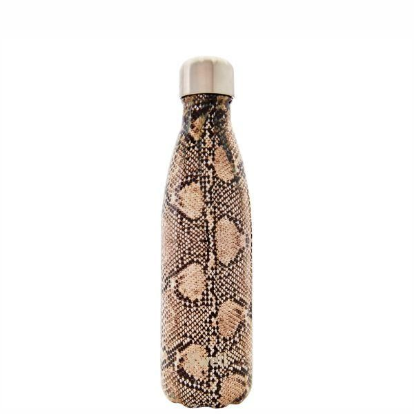 S'Well | Insulated Bottle Exotics Collection 500ml - Sand Python