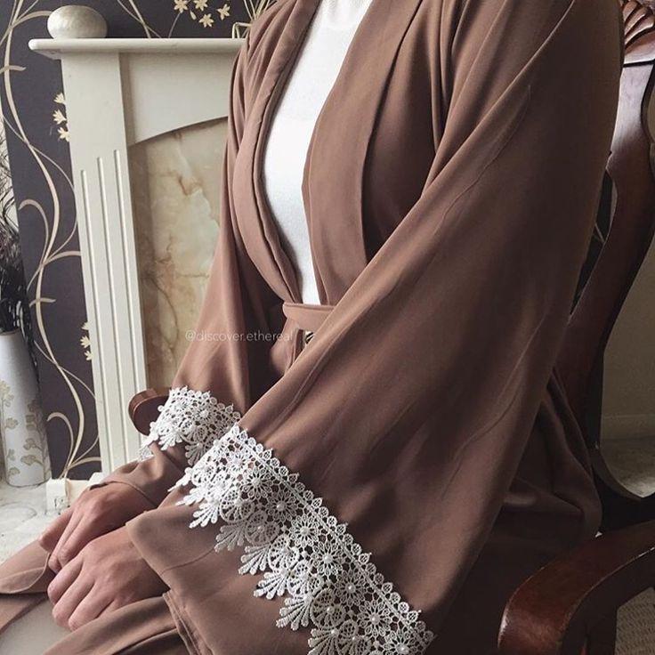 IG: Discover.Ethereal || Modern Abaya Fashion || IG: Beautiifulinblack