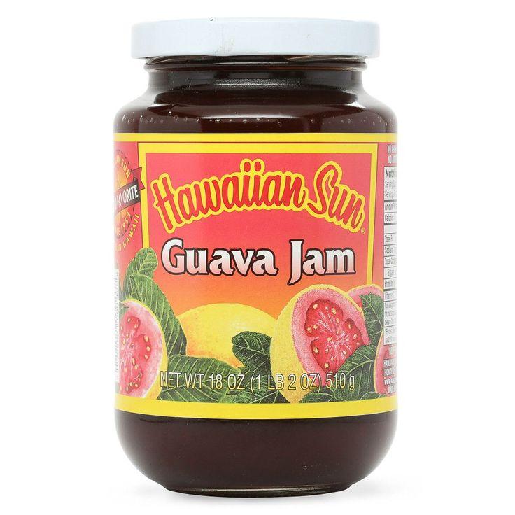 Hawaiian Sun Guava Jam - 10 oz, 18 oz or 6 pk