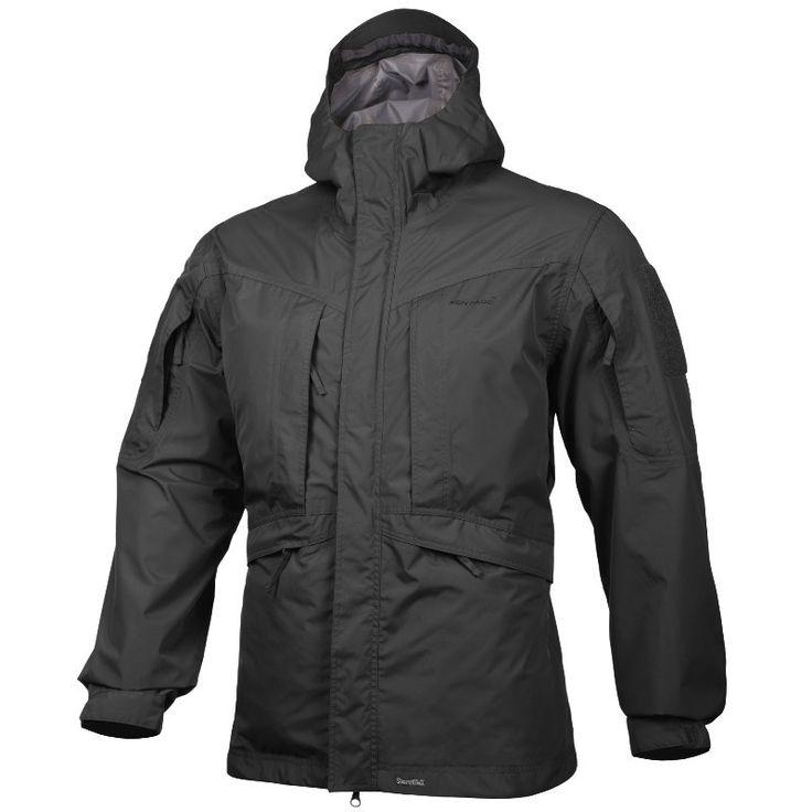 Pentagon Monsoon Rain-Shell Jacket Black