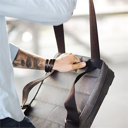 Messenger bag/backpack convertible