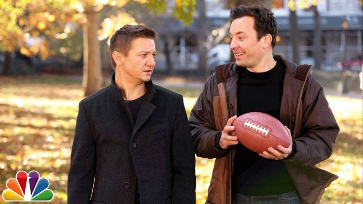 """Catch"" with Jimmy Fallon and Jeremy Renner"