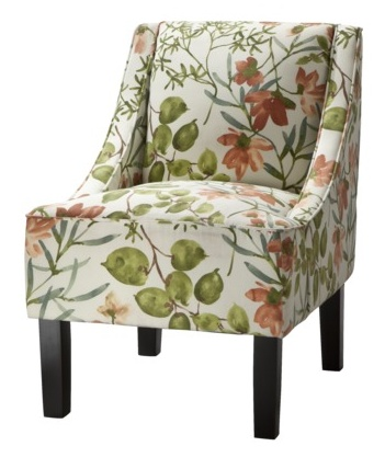 Target Upholstered Slipper Chair 16999 Accent ChairsLiving Room