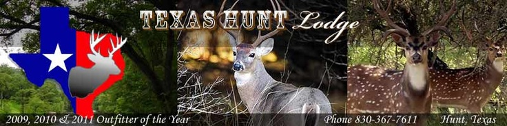 """Winner of the 2009-2010 & 2010-2011""""Outfitter of the Year"""" and """"Ranch of the Year"""", Texas Hunt Lodge is the premier destination for Trophy and World Record Hunts"""