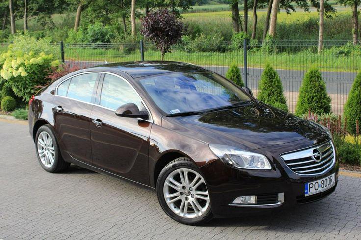 Opel Insignia - 2.0 CDTi 160KM Cosmo - Salon PL I-właściciel Serwisowana w ASO