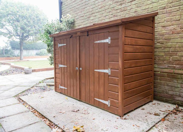10 Inspiring Ideas For Your Side Yard Backyard Storage Backyard Sheds Side Yard