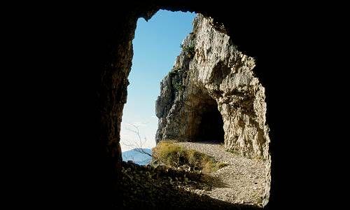 Pasubio - strada delle Gallerie  52 tunnels north of vicenza