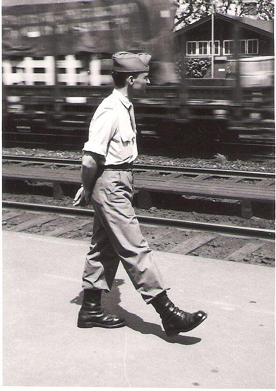 Præmierløjtnant Simonsen på Rungsted Station