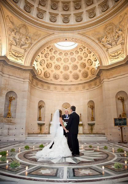 Real Weddings: Wedding Ceremony Location: A Chapel located in 8th arrondissement, Paris