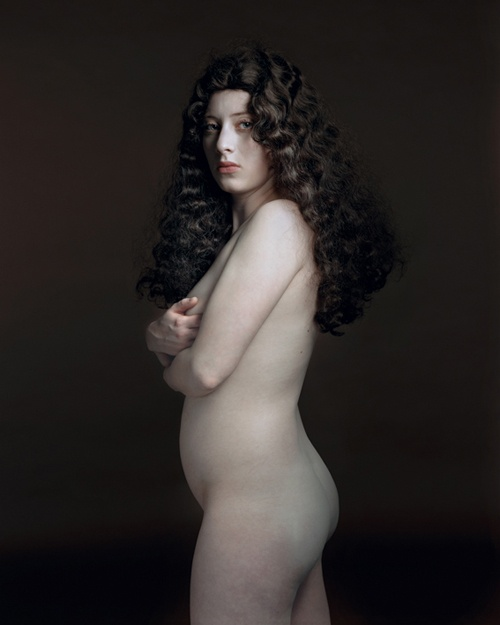 "Tronie Portraits of The Daughter. Hendrik Kerstens at Witzenhausen Gallery of NYC and Amsterdam showed Paula Pictures, a modern girl rendered timeless by light and a technique of Dutch portrait painters of the 17th century (called tronies) and removed from context by the non-identifiable ""clothing and hats"" attached to her by her father, Hendrik."