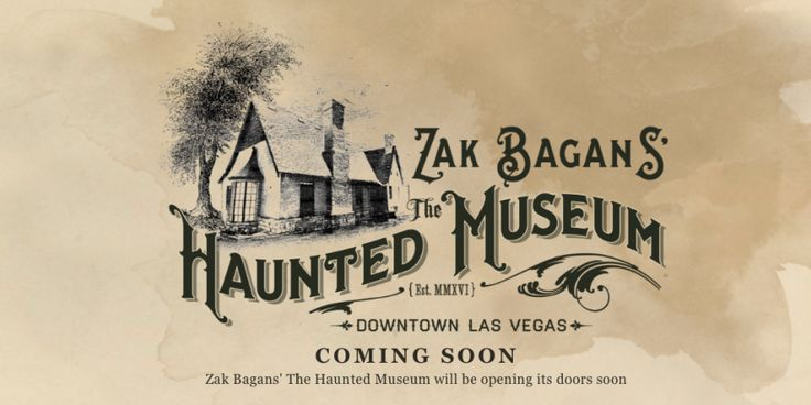 Zak Bagans to Open The Haunted Museum in Vegas