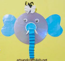 Cd crafts | Easy crafts ideas for kids – Craft projects