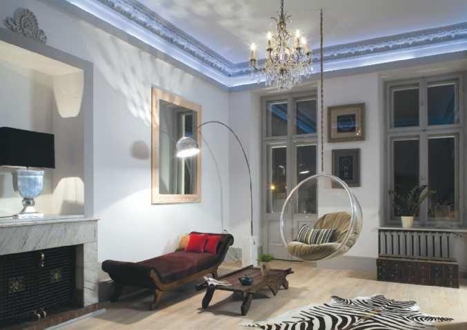 Oświetlenie domu: dekoracyjne i użytkowe [GALERIA]