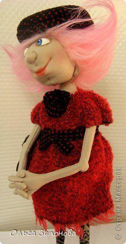 Куклы Шитьё Тётенька по мотивам Джилл Маас Ткань фото 3
