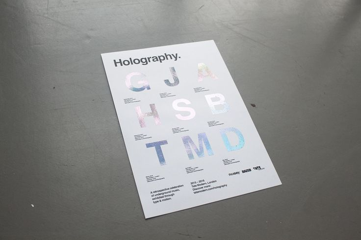 Holography on Behance