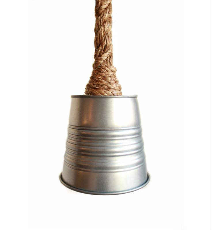 Industrial Lighting - Industrial Farmhouse Kitchen Island Bar Pendant Light Rustic Metal Galvanized Bucket Steel guard hanging pendent