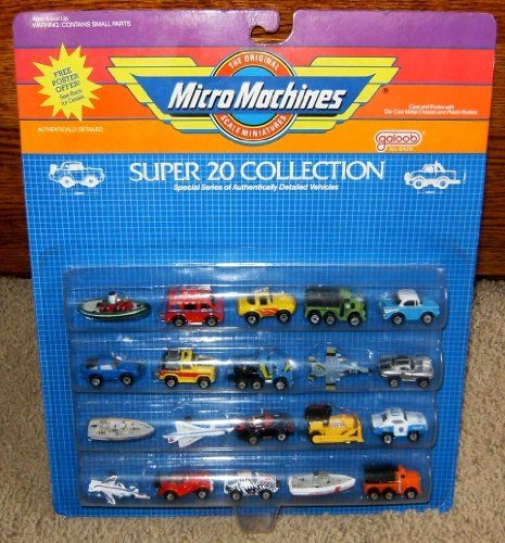 Micro Machines Super 20 Collection Galoob MicroMachines