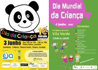 VILA VERDE viva!: AGENDA | Sugestões de Fim de Semana: Dia da Crianç...
