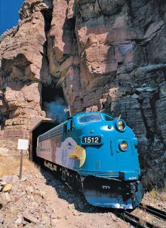 Verde Canyon Railroad - Arizona This train ride originates in Clarkdale, near Cottonwood, about 90 miles north of Phoenix off interstate 17.