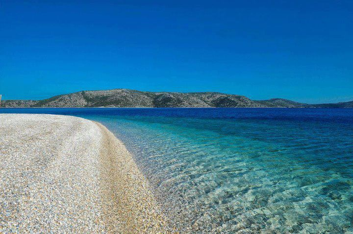 Greek Islands  Alonissos island,Agios dimitrios beach-Greece