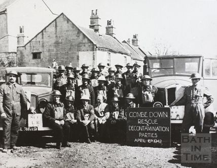 Combe Down Rescue and Decontamination Parties 1942