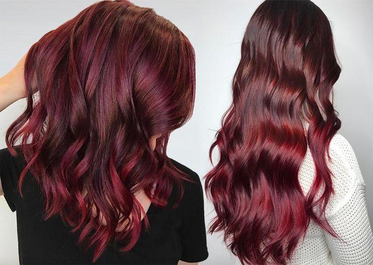 63 Yummy Burgundy Hair Color Ideas: Burgundy Hair Dye Tips & Tricks, #Amp #Burg …   – maroon hair