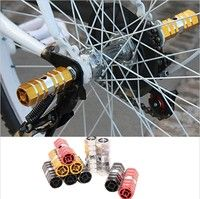 Wish | 2pcs BMX Mountain MTB Bike Bicycle Alloy Axle Pedals Foot Stunt Pegs BY2826