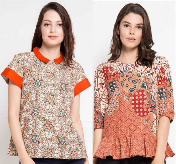 Batik Shirt for Ladies