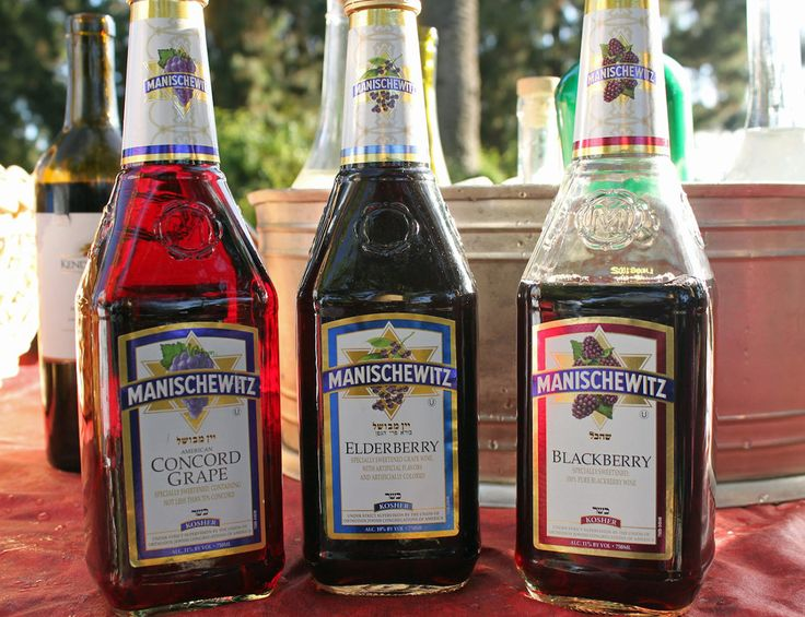 Manischewitz wine may be bad, but the history is excellent. kt we were just talking about this