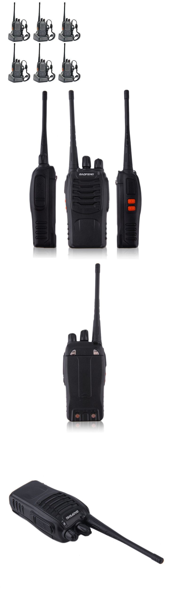 Walkie Talkies Two-Way Radios: Two 2 Way Radio (Pack Of 6) Walkie Talkie Business Commercial Rechargeable New 8 BUY IT NOW ONLY: $61.95