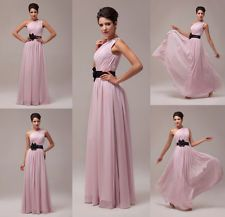Formal Long Chiffon Evening Masquerade Gown Cocktail Party Prom Bridesmaid Dress