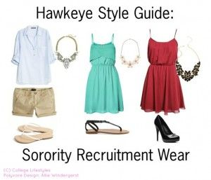 If you need help finding the perfect outfit for recruitment, check out these tips created by sorority girls themselves.