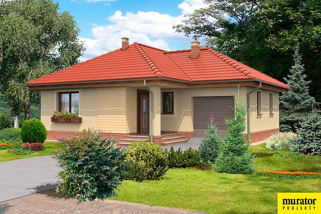Projekt Nadobny Murator C213 - KUP U ŹRÓDŁA !! Dom Nadobny, Projekty domów Nadobny