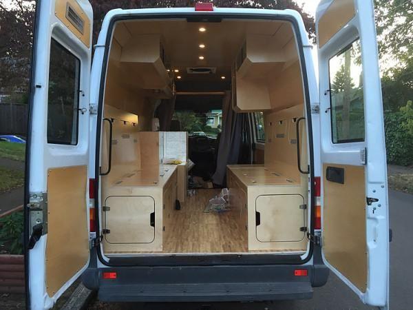 Kundenspezifische Sprinter Van RV Umwandlung