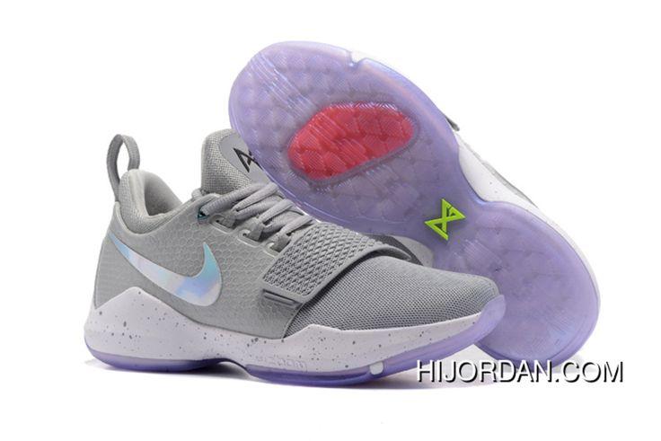 Nike PG 1 '2K' Cool Grey White First Signature Shoes New Style. Michael Jordan  ShoesAir ...