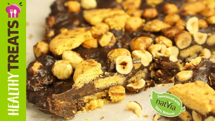 #Chocolate Hazelnut Crunch, #LowCarb -  #Natvia's Healthy Treats
