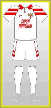 Sevilla FC Super Nintendo 1992-1993