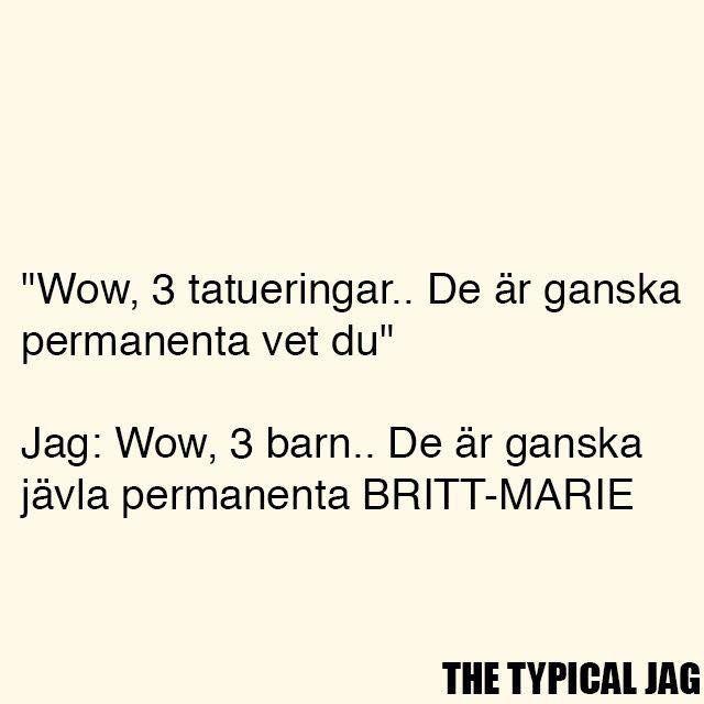 Fucking Britt-Marie asså