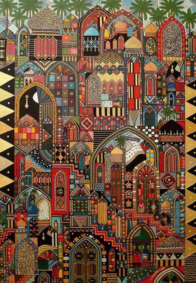 Dhuha Alkhdhairi, an Iraqi artist