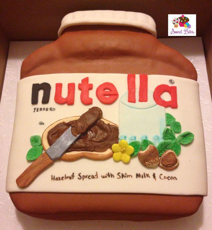 18 best images about Nutella jar cake on Pinterest ...