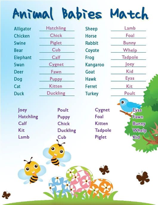 Challenger image within printable baby shower games with answer key