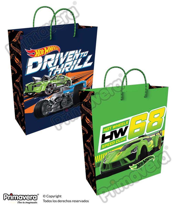 Bolsa Regalo Hot Wheels http://envoltura.papelesprimavera.com/product/bolsa-regalo-personajes-hot-wheels/