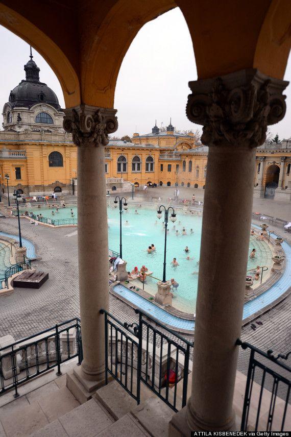 Budapest's Szechenyi Thermal Baths
