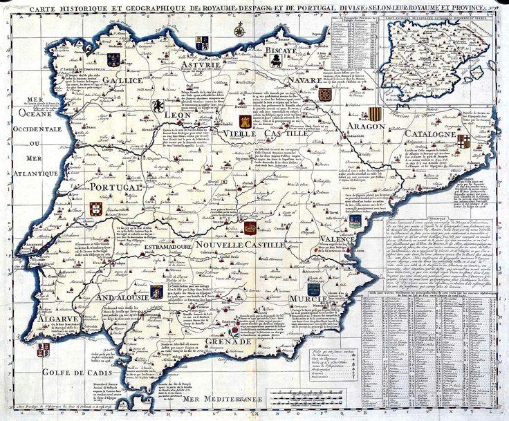 Best GO Maps Iberian Peninsula Images On Pinterest - Portugal map iberian peninsula