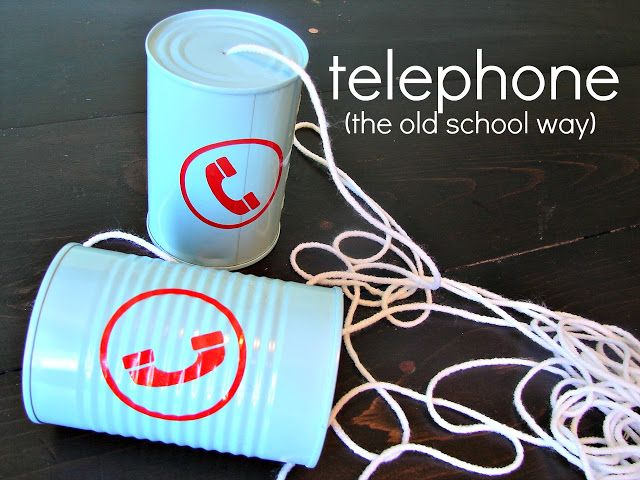old school cell phones! This would be a great experiment for sound especially since I know they work EDUC325