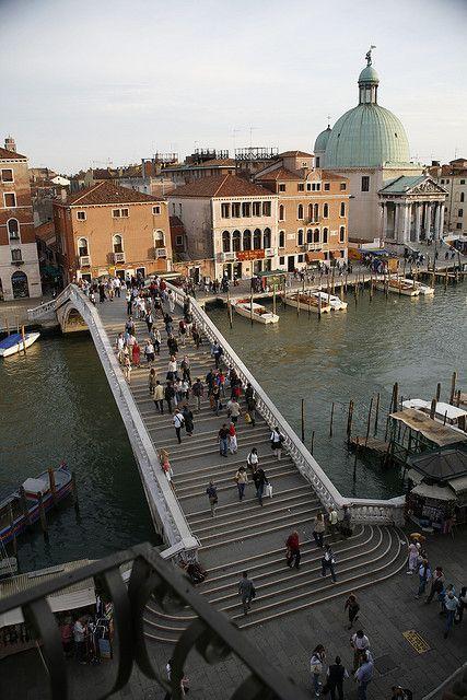 Ponte degli Scalzi, Venezia, Italia.