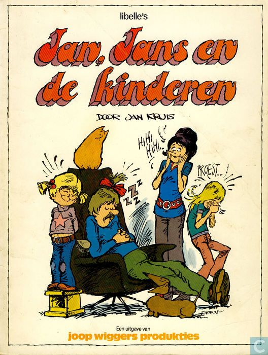 Jan, Jans en de kinderen! Still love them <3 Daar lag ik helemaal van in een deuk. Heb de stapel strips nog.
