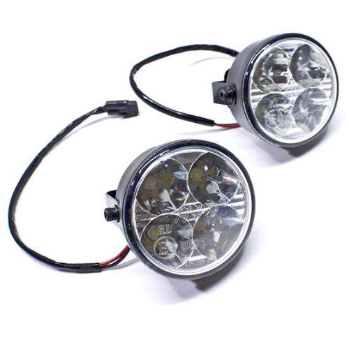 Oracle Lighting 5412-001 White 4W LED DRL/Fog Light. For product info go to:  https://www.caraccessoriesonlinemarket.com/oracle-lighting-5412-001-white-4w-led-drlfog-light/